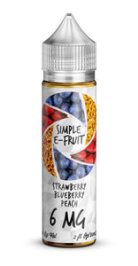 Simple E-Fruit Strawberry Blueberry Peach 60ml