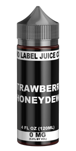 No Label Juice Co - Strawberry Honeydew 120ml