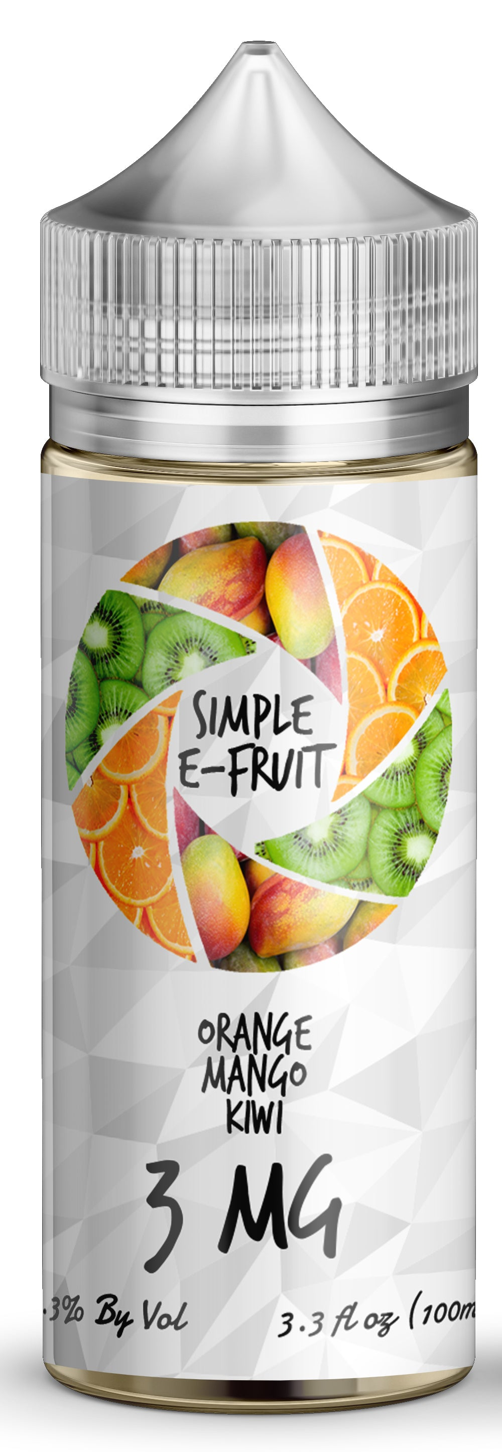 Simple E-Fruit Orange Mango Kiwi 100ml