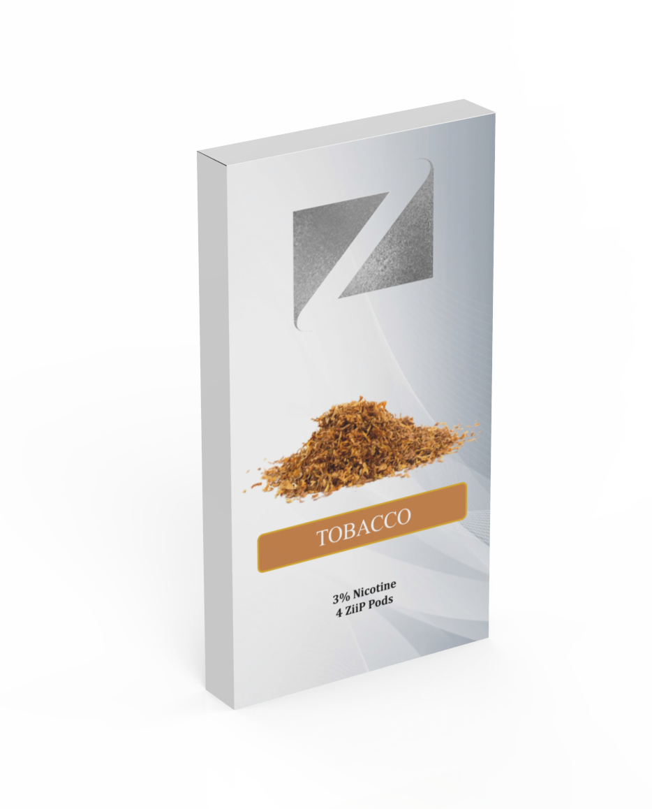 JUUL ZIIP PODS - Tobacco 40MG (4-PACK)