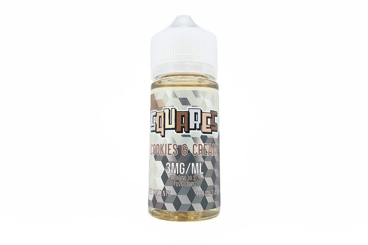 SQUARES - ALL FLAVORS (100ML)