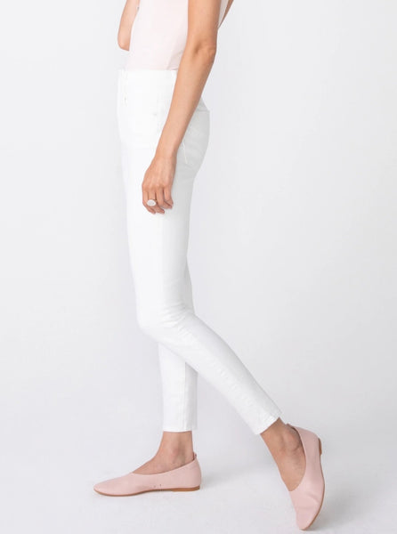 Unpublished Olivia High Rise Skinny Blanc