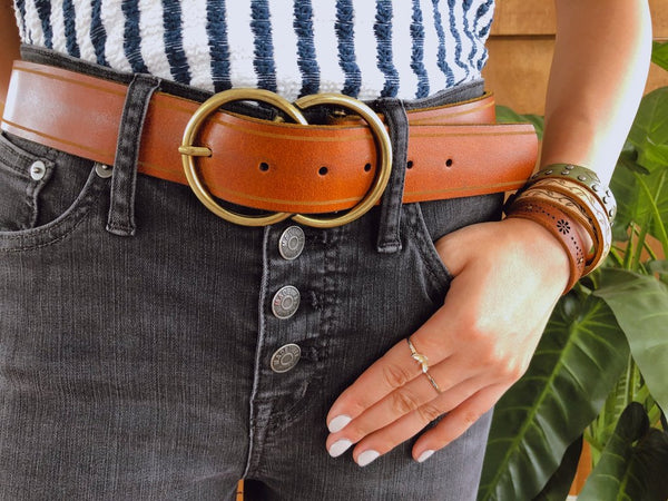 Most Wanted Double Circle Belt