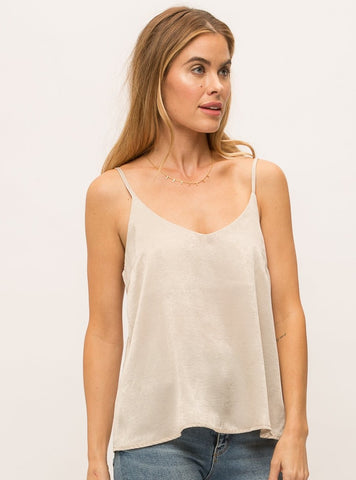 Mystree Dull Satin Cami [2 colors]