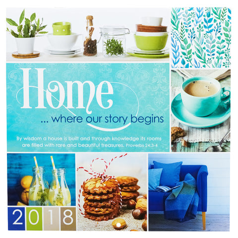 2018 Cal Large - Home Where Our Story Begins