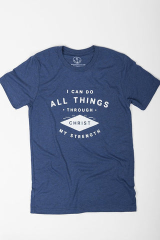 All Things Through Christ Tee