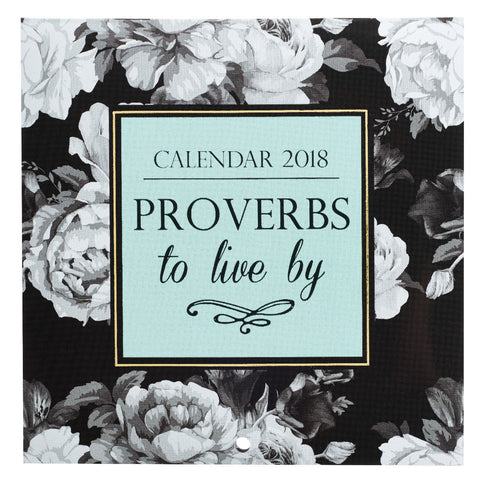 2018 Cal Small - Proverbs to Live By