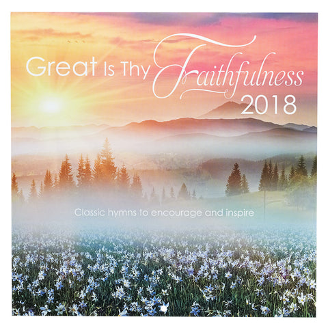 2018 Cal Large - Great Is Thy Faithfulness