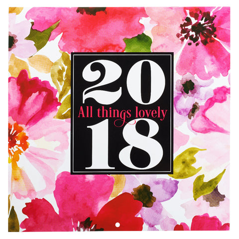 2018 Cal Large -All Things Lovely