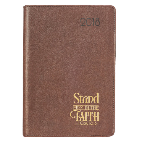 2018 Exec Zip Planner - Stand Firm In The Faith