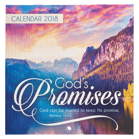 2018 Cal Small God's Promises