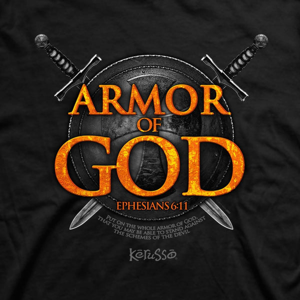 Armor of God - Plus Size Christian T-Shirt