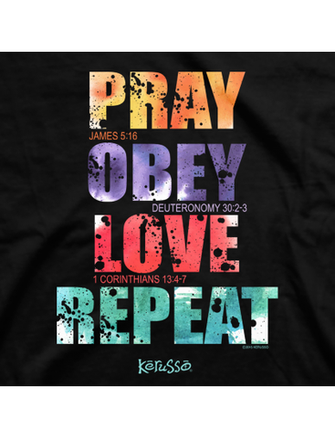 Pray Obey Love Tee