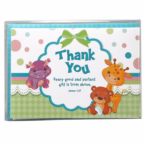"""Lulla Bible"" Thank You Cards - James 1:17"