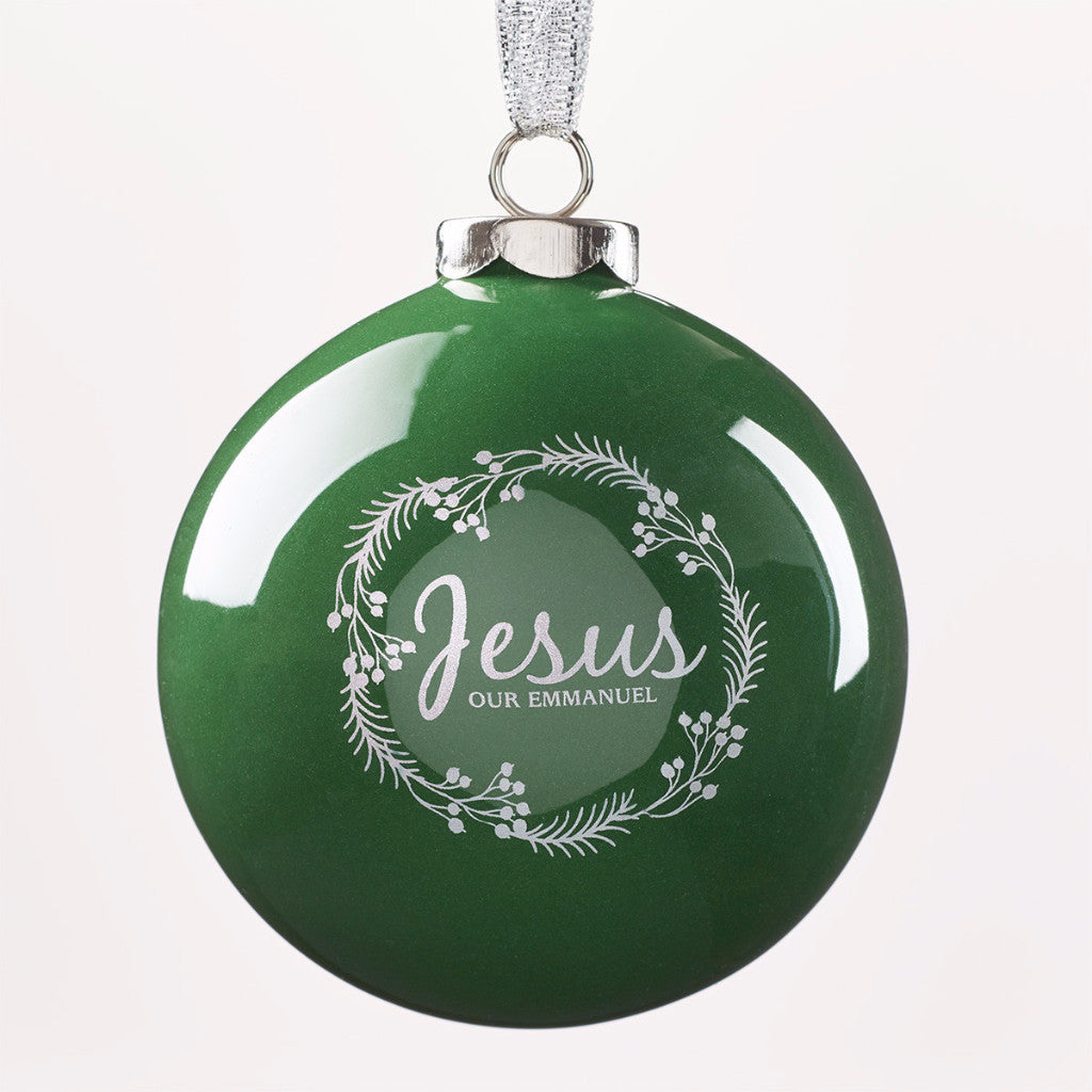 Ornament Ball - Jesus