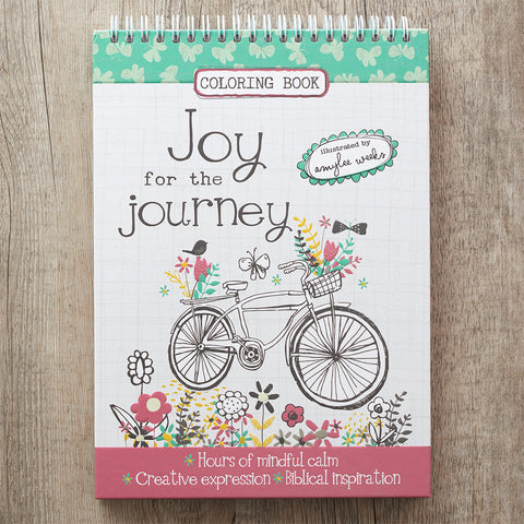 Coloring Book Joy for the Journey