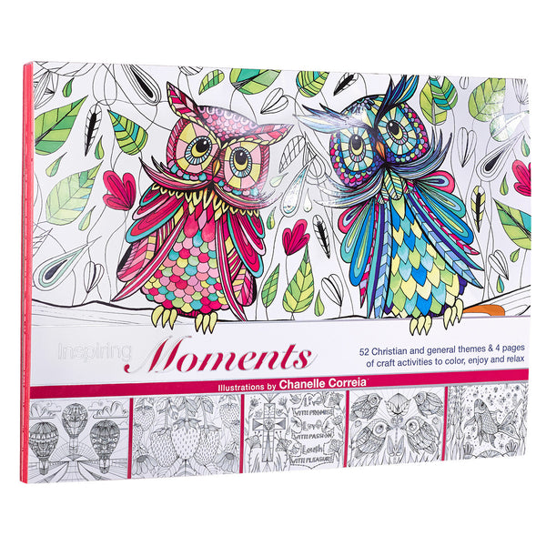 Coloring Craft Book Inspiring Moments