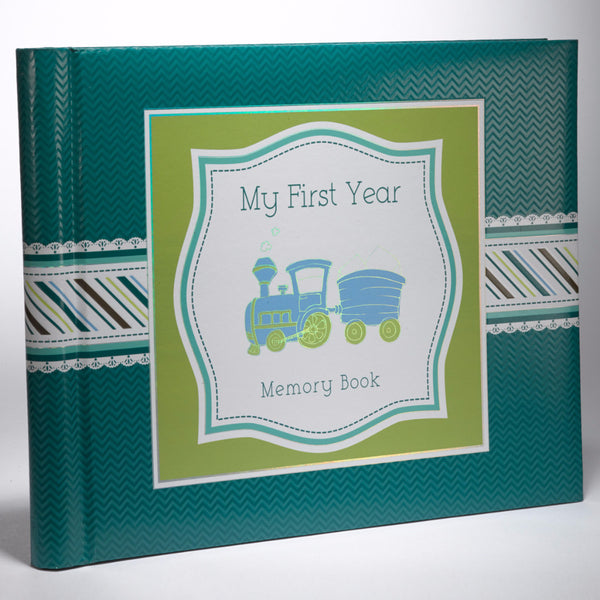 My First Year Memory Book For Baby Boys