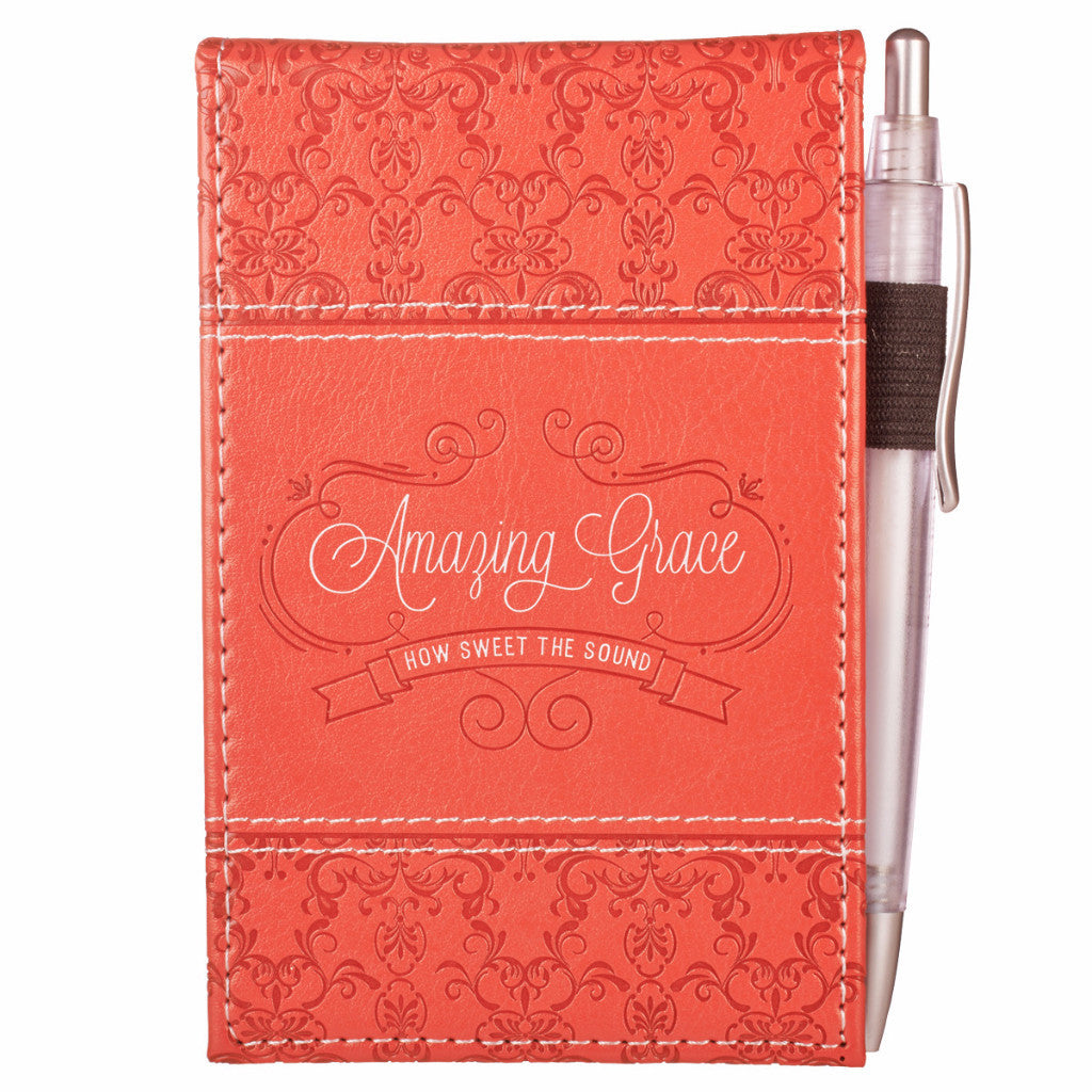 """Amazing Grace"" Notepad with Pen"