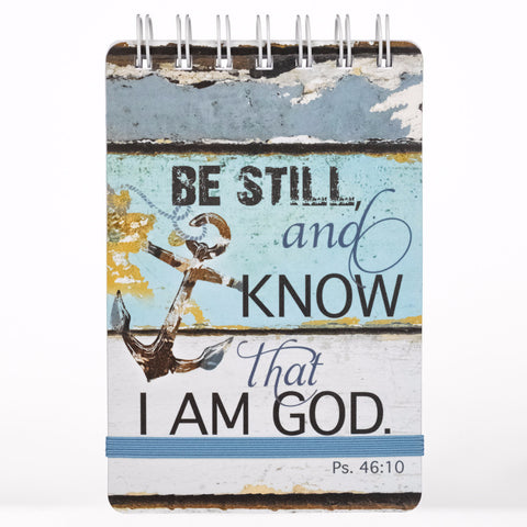 """Be Still Notepad"" - Psalm 46:10"