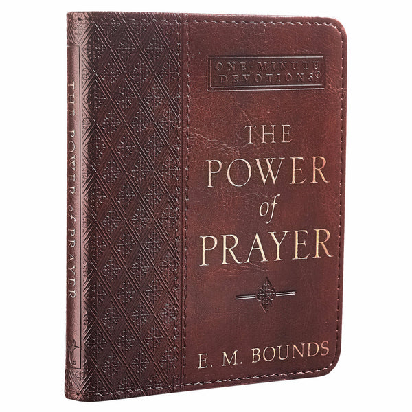 One-Minute Devotions The Power of Prayer (LuxLeather Edition)
