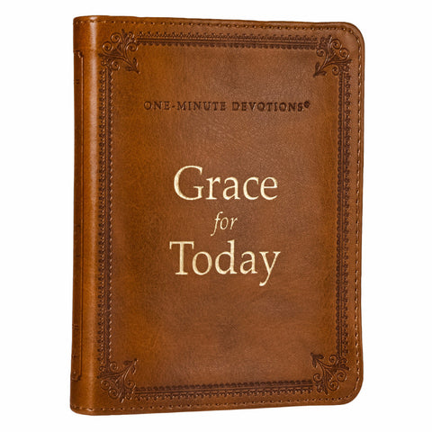 One Minute Devotions Grace for Today Lux Leather