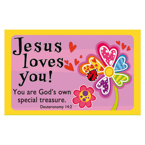 """You are God's Special Treasure"" Pass-Around Cards"