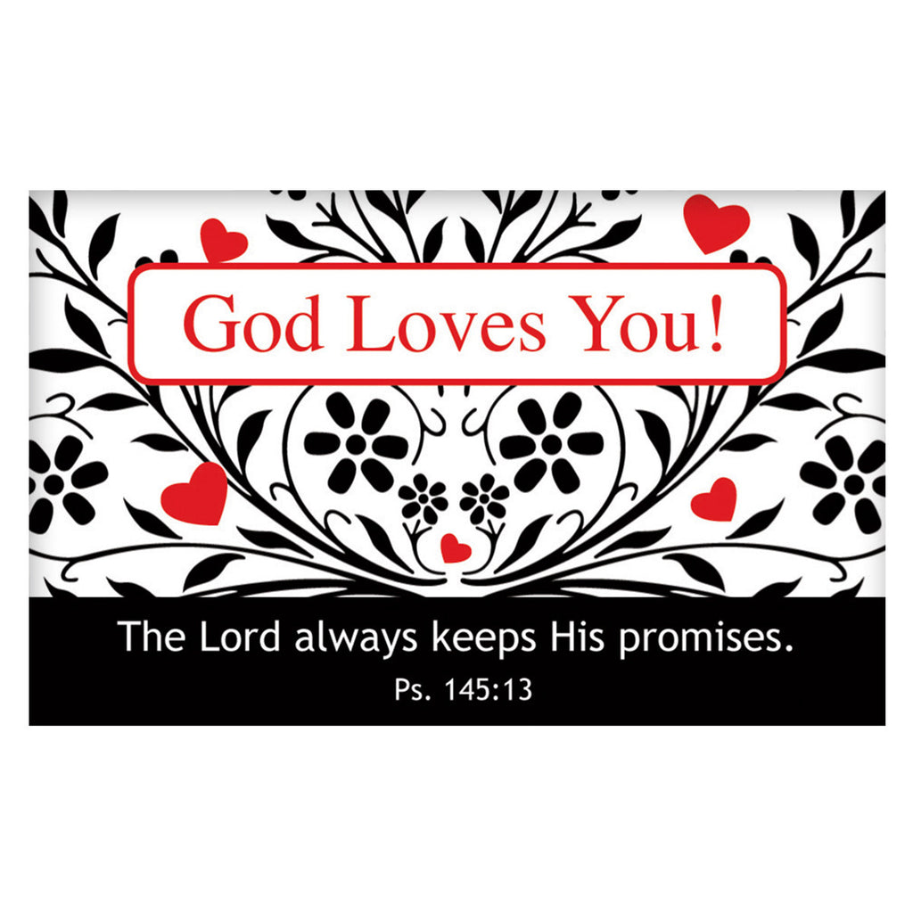 """God Loves You"" Pass-Around Card"
