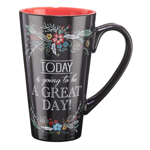 Today Is Going to Be a Great Day Tall Latte Mug - Philippians 4:4