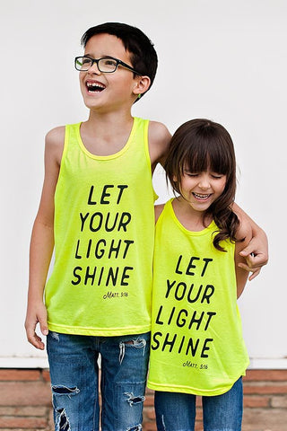 Youth Light Shine Tank