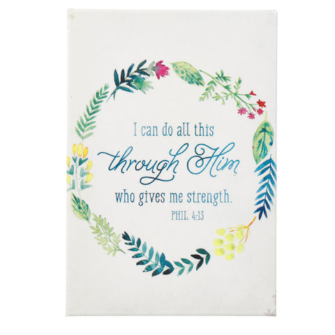 Magnet I Can Do All This Phil 4:13 - Pack of 3