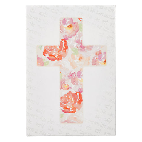 Magnet Cross Floral - Pack of 3