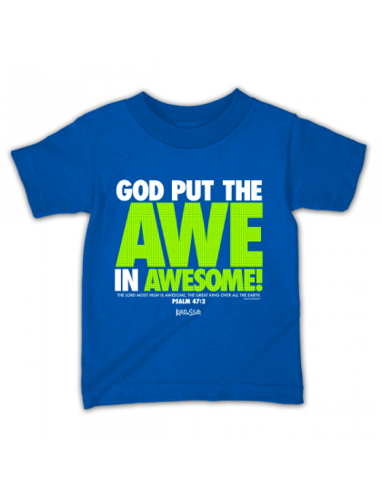 God Put The Awe In Awesome Tee