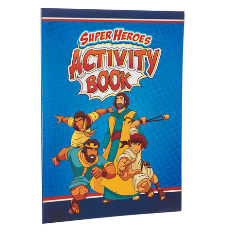 Super Heros Activity Book - Bible Fun