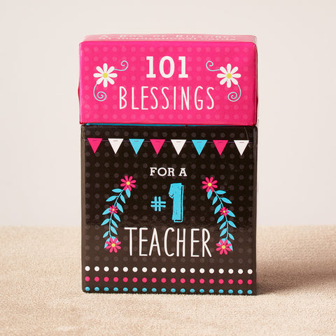 101 Blessings for a teacher