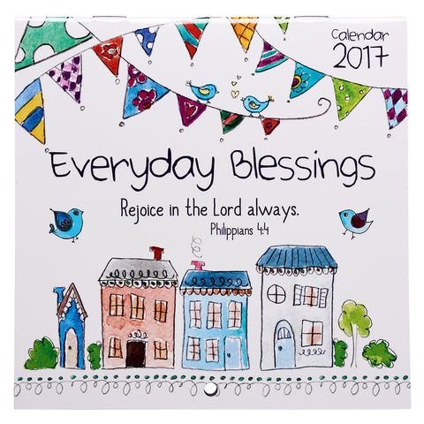 2017 Small Wall Calendar - Everyday Blessings