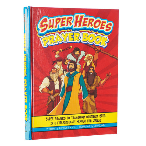 Super Heroes Prayer Book