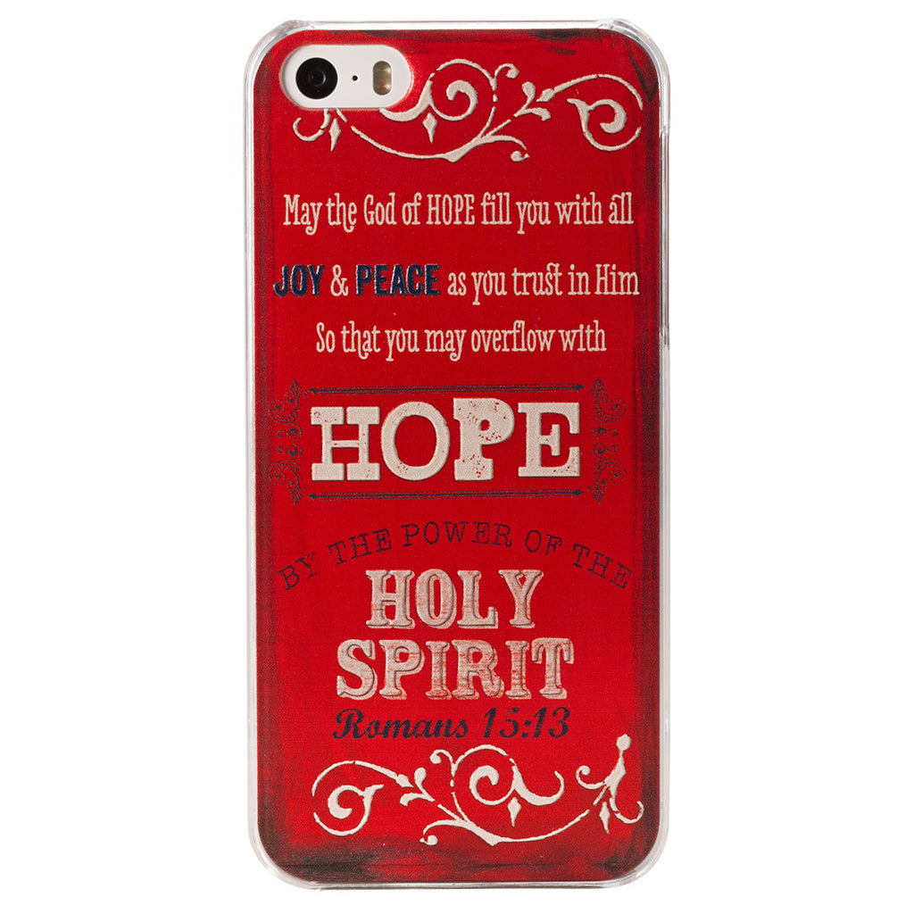 "Retro Blessings ""Hope"" iPhone® 5/5S Smartphone Cover"