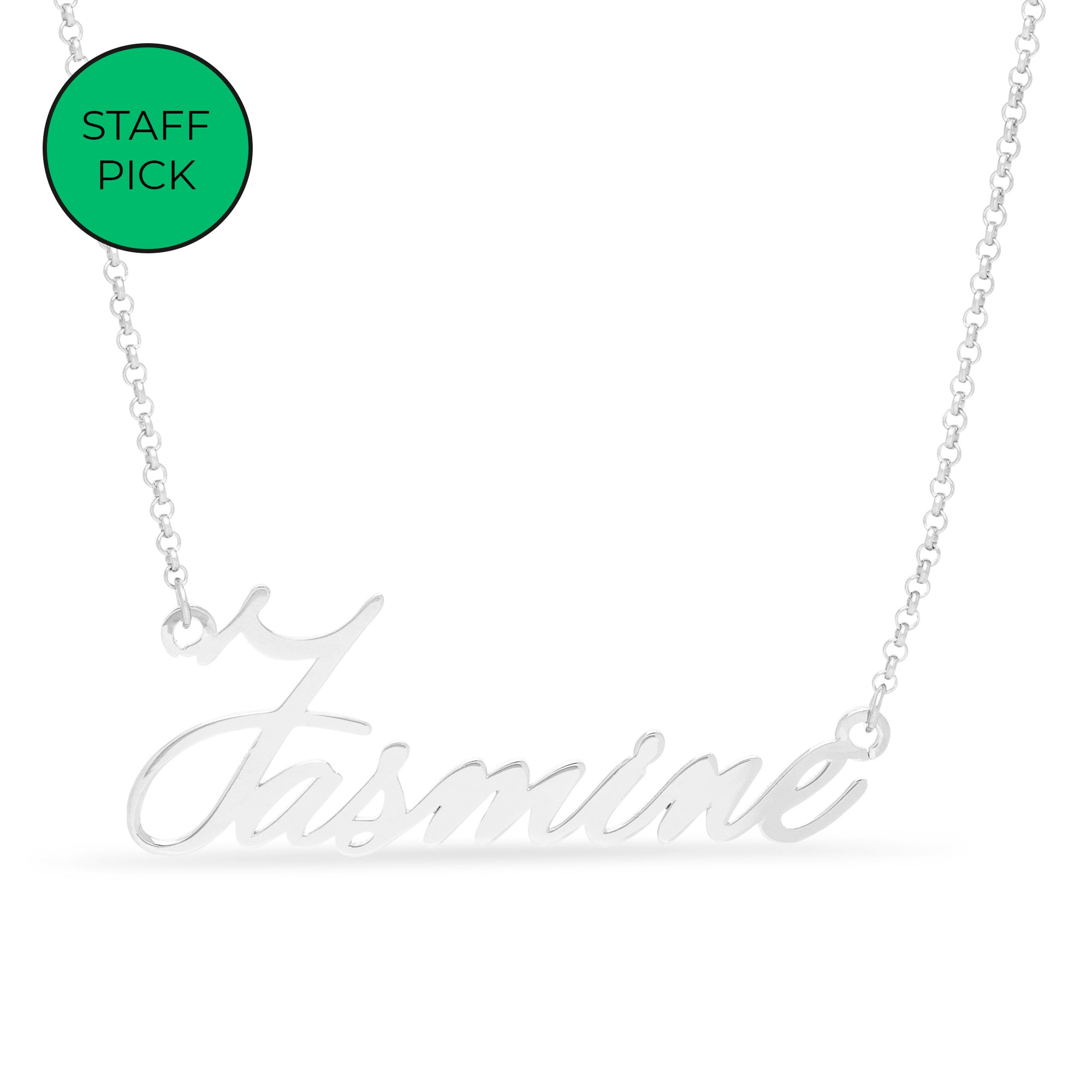 United Bracelets - Tiny Name Necklace