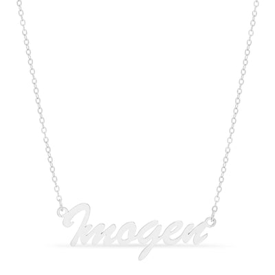 Necklace - Brush Style Name Necklace