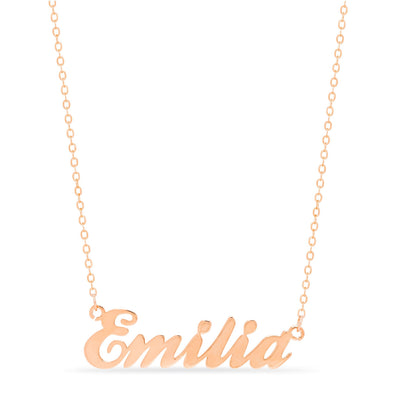 Necklace - Cursive Style Name Necklace