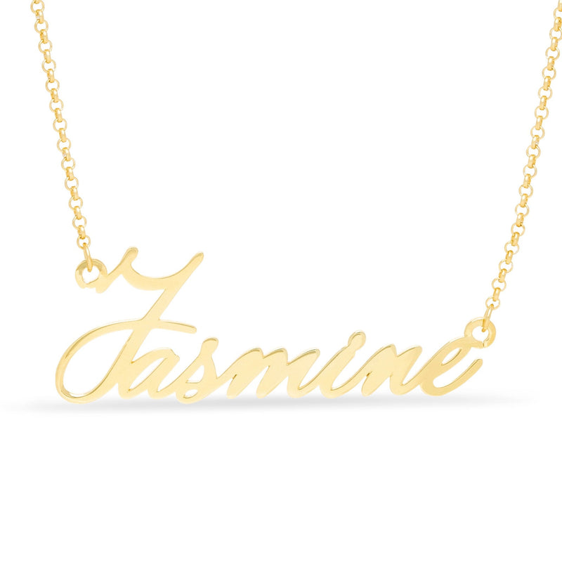 Necklace - Tiny Name Necklace