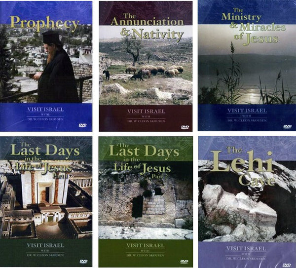 Visit Israel with W. Cleon Skousen DVDs