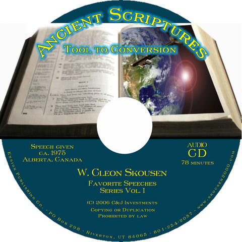 Ancient Scriptures - Tool to Conversion Speech