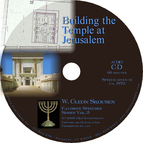 Building the Temple at Jerusalem Speech