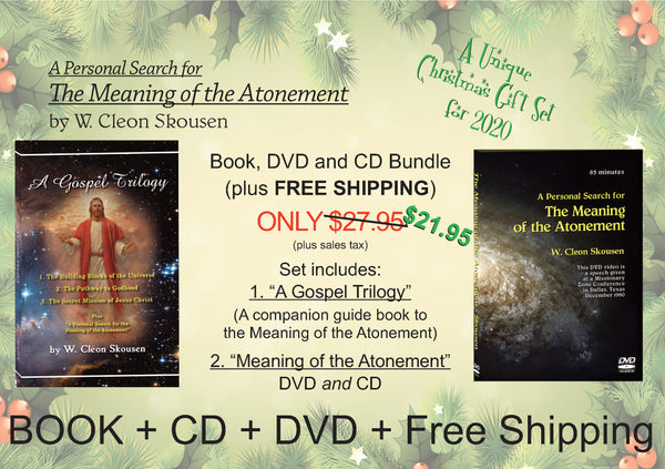Gospel Trilogy and Atonement combo with Free Shipping