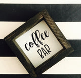 Coffee Inspired Signs | 6x6