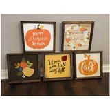 Fall Signs 6x6