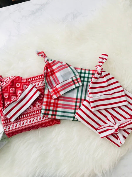Christmas swaddle set