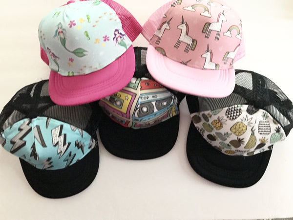 Trendy kids hats